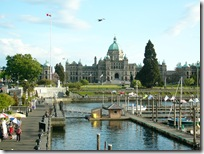 The Parliament Buildings Victoria BC